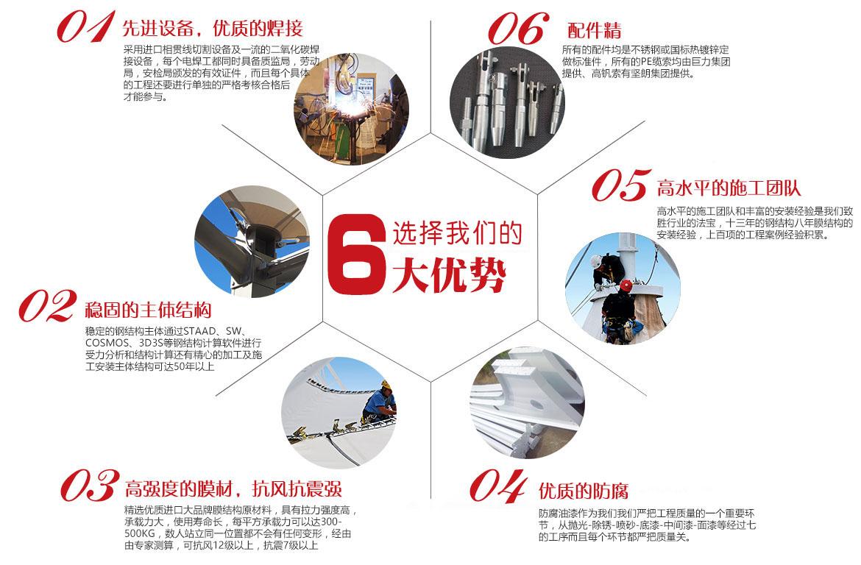 选择我们的6大优势